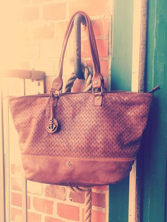 Shopper Arielle in charming cognac | Harbour 2nd leather