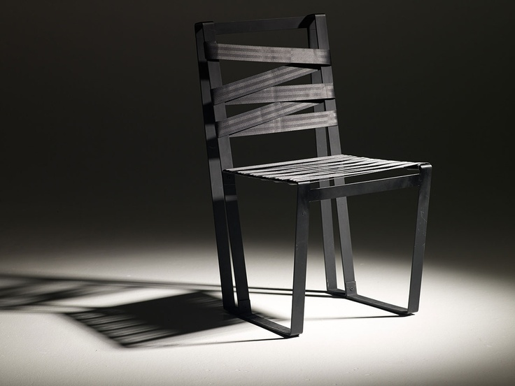Theros black chair by Danai Gavrili