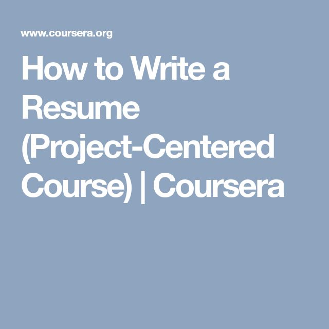 Best 25+ How to resume ideas on Pinterest Build a resume, Resume - how to write a resume wikihow