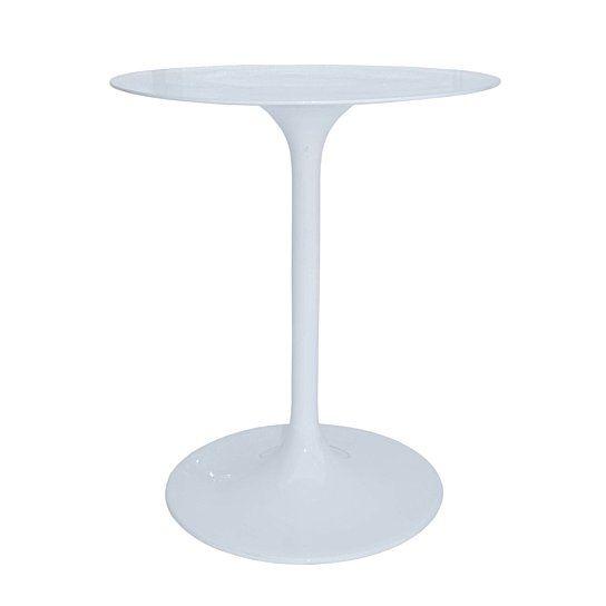 TULIP ACCENT TABLE WHITE