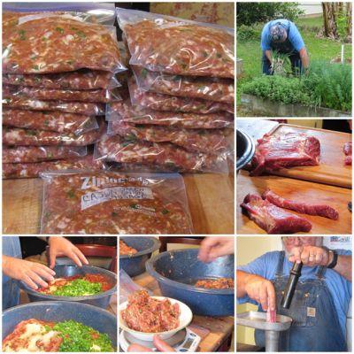 Making Cajun Green Onion Sausage Homesteading - The Homestead Survival .Com