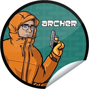 Steffie Doll's Archer Episode 5 Sticker | GetGlue