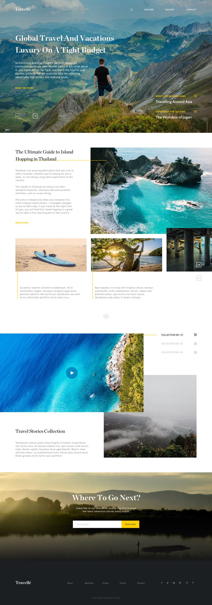 Dribbble - travelle.png by Miramark Diaz