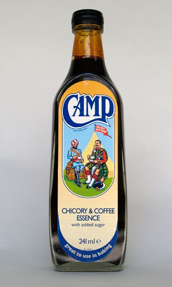 Camp Coffee, a black, concentrated coffee-flavoured syrup - I used to like it