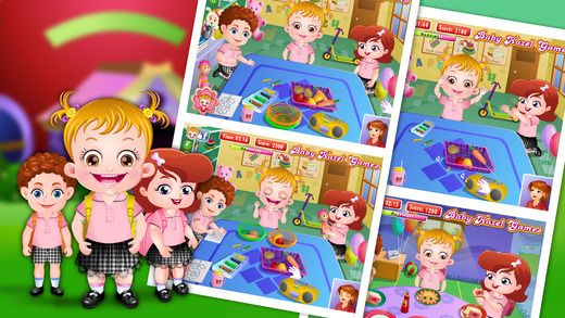Enjoy completing different activities with Baby Hazel and other kids at the preschool. https://itunes.apple.com/gb/app/baby-hazel-at-preschool/id916465406?mt=8