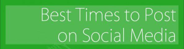 Social Network infografica 2013: quando pubblicare sui social media