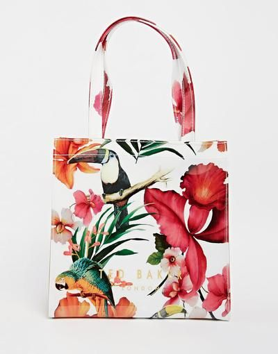 Ted Baker Tropical Toucan #bag #tedbaker #style #totebag #handbag #shop #fashion #collection #asos #beach #summer #fun #bright #accessories #instagram #InspoApp #trending