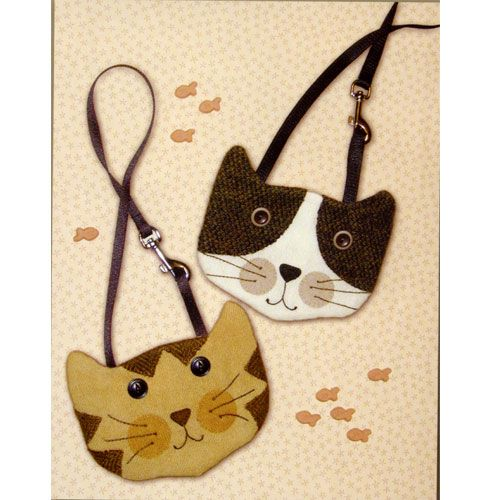 Cat Purses Quilters Warehouse Bags And Such Pinterest Purse Crafts