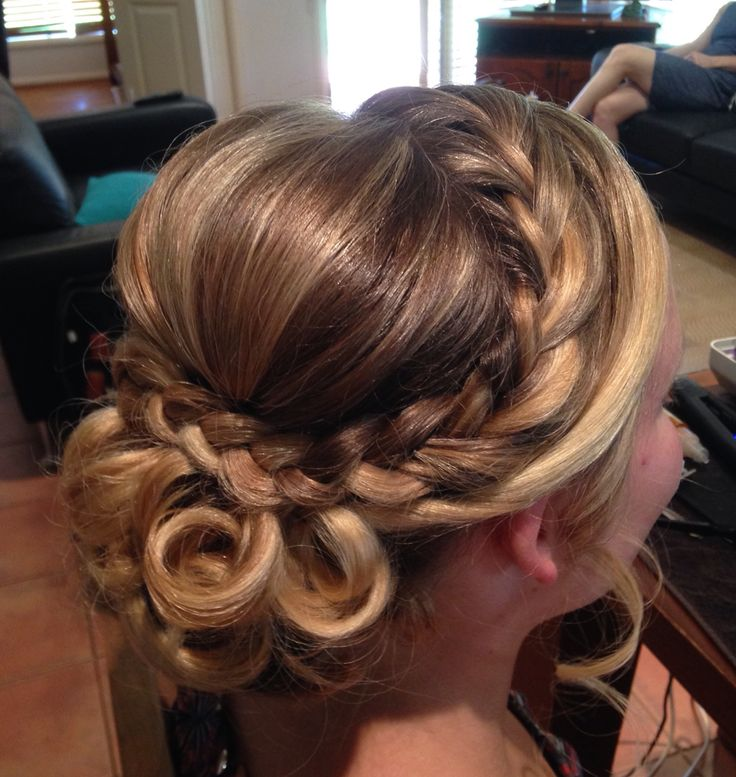 School Formal Hair by An Eye For Style www.aneyeforstyle.com.au
