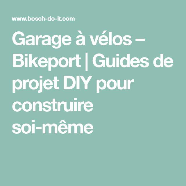Garage à vélos – Bikeport | Guides de projet DIY pour construire soi-même
