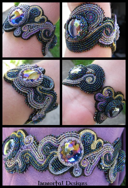 bead embroidery patterns free | Collision by ~immortaldesigns on deviantART