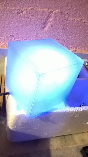 cheap and simple DIY The Tesseract-from The Avengers