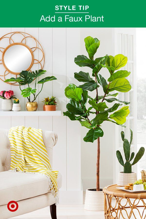 Green Up Your Indoor Or Outdoor Space With Artificial Plants Plants Trees Flowers Are Perfect Ideas T Plant Decor Artificial Plants Artificial Plants Decor