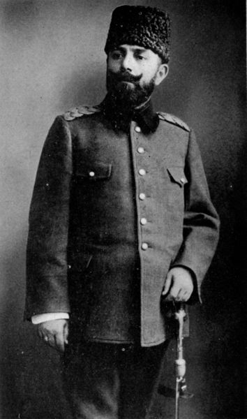 Djemal Pasha (Ottoman Turkish: جمال پاشا, modern Turkish: Cemal Paşa), born Ahmed Djemal (6 May 1872 – 21 July 1922), was an Ottoman military leader and one-third of the military triumvirate known as the Three Pashas that ruled the Ottoman Empire during World War I. Djemal was also Mayor of Istanbul and is seen as one of the perpetrators of the Armenian Genocide and the Assyrian Genocide. He was decorated with the Pour le Mérite.