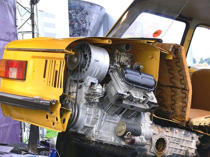 ZAZ 968m cutaway from the rear