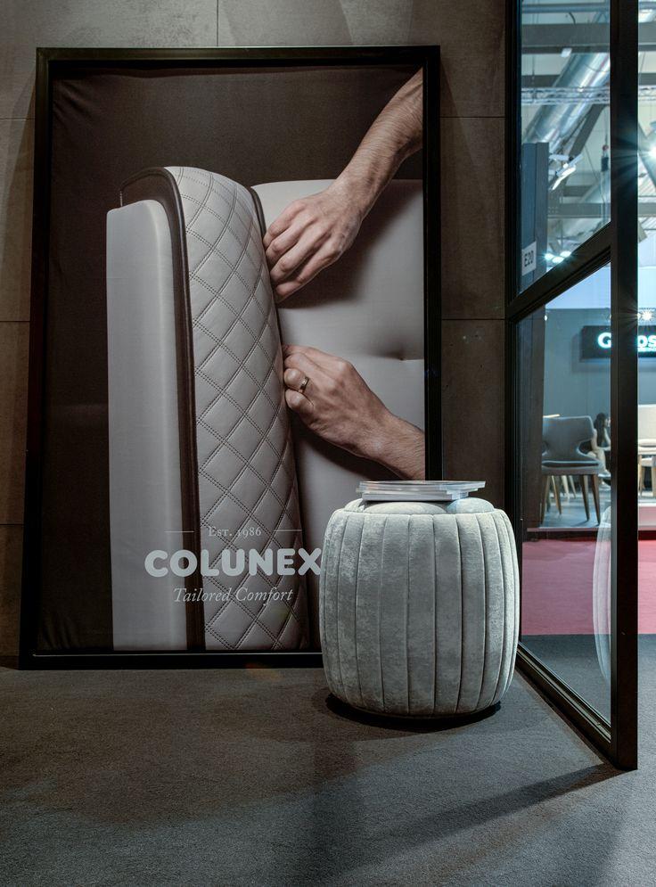 Contour Stool by Colunex @ Salone del Mobile Milano 2017