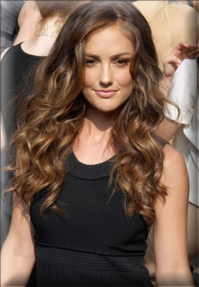 Minka Kelly Light Brown Hair Celebgot Design 433x624 Pixel. This Is How My  Curls Look