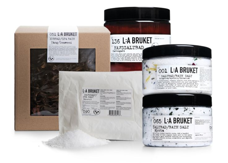 There's nothing like bringing the SPA to your own bathroom. L:A BRUKET Shop it: http://www.labruket-usa.com/collections/spa #LaBruket #Cieluxe #CieluxeBrands #Spa #LaBruketSpa #SpaProducts #seaweed #bathsalts