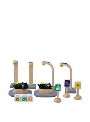 45% OFF PlanToys PlanCity Series Eco Street Accessories
