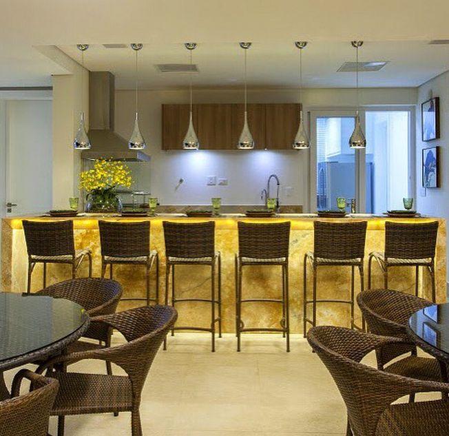 Construindo Minha Casa Clean: Pedra Ônix Iluminada na Decoração Luxo! Veja Dicas e Ideias!