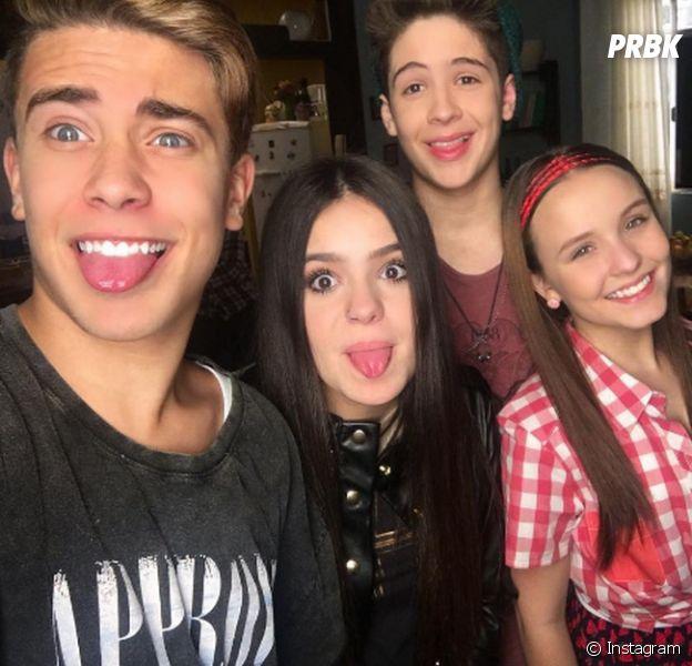 Larissa Manoela, João Guilherme, Luis Mariz e Viih Tube posam juntos!