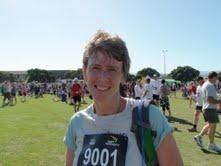 My first half marathon, Wellington Around the Bays - sooo much fun!