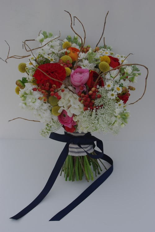 twigs in the bouquet?