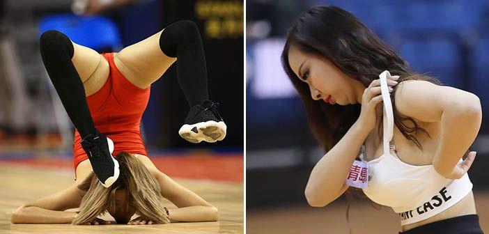 High School Cheerleaders Wardrobe Malfunctions - Wardrobe