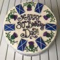 Scottish Birthday Cake|mens Birthday Cake|Edinburgh and Glasgow