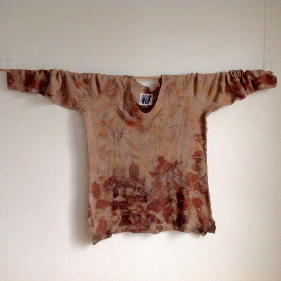 100% Merino wool V necked Jumper. by IndigoDazeArt on Etsy