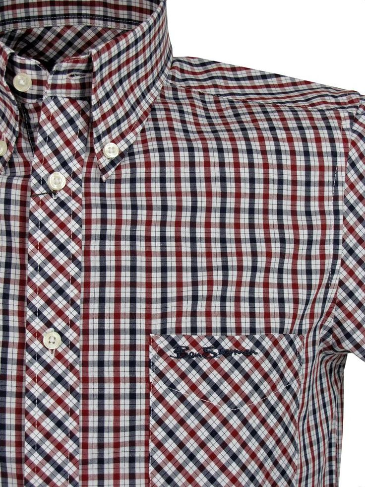 Ben Sherman button down fitted shirt.