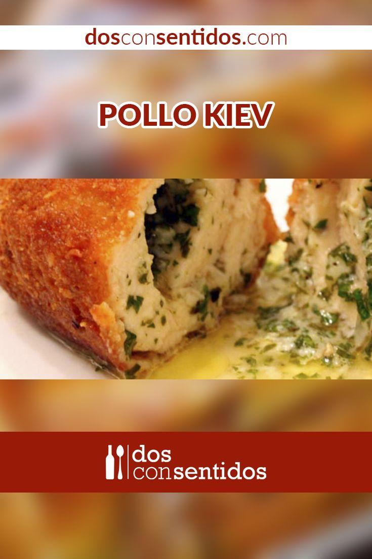 El pollo Kiev es un delicioso plato, que aún no se conoce su origen, como dice su nombre; dicen que nació en un restaurante ruso, donde le pusieron este nombre y así se rego por todo el mundo, donde la mayoría piensa que es un típico ucraniano. Consiste en una pechuga de pollo rellena de mantequilla fría saborizada, la cual se derrite al freírse u hornearse el pollo.