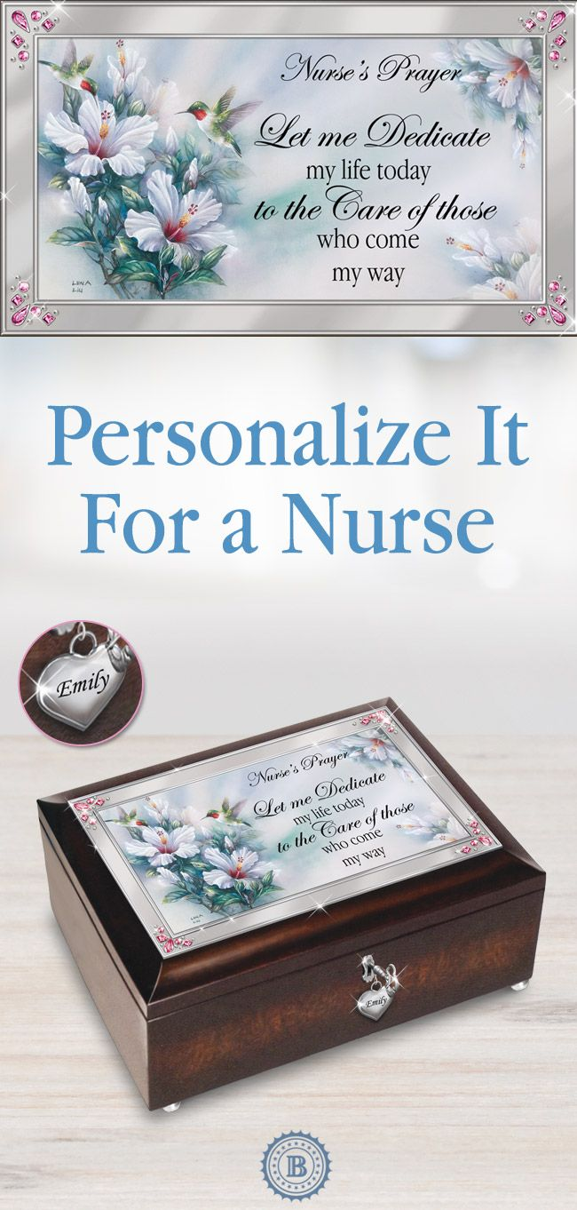 Nurse Prayer Personalized Music Box 2150 best