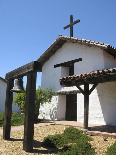 Sonoma Mission, the northern most mission in a chain that begins in Baja California, Mexico and trails all the way up the coast to the town Plaza of Sonoma