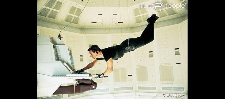 Um dos grandes sucessos da carreira de Tom Cruise foi a franquia 'Missão Impossível', iniciada em 1996