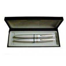Gravírozható elegáns 2 darabos tollkészlet díszdobozban - Golyóstoll és töltőtoll - Banker Ft Ár 2,290 Ft Ár Tollkészletek