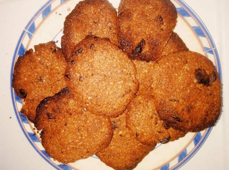Chocolate cookies βουτύρου βρώμης (2 μονάδες)