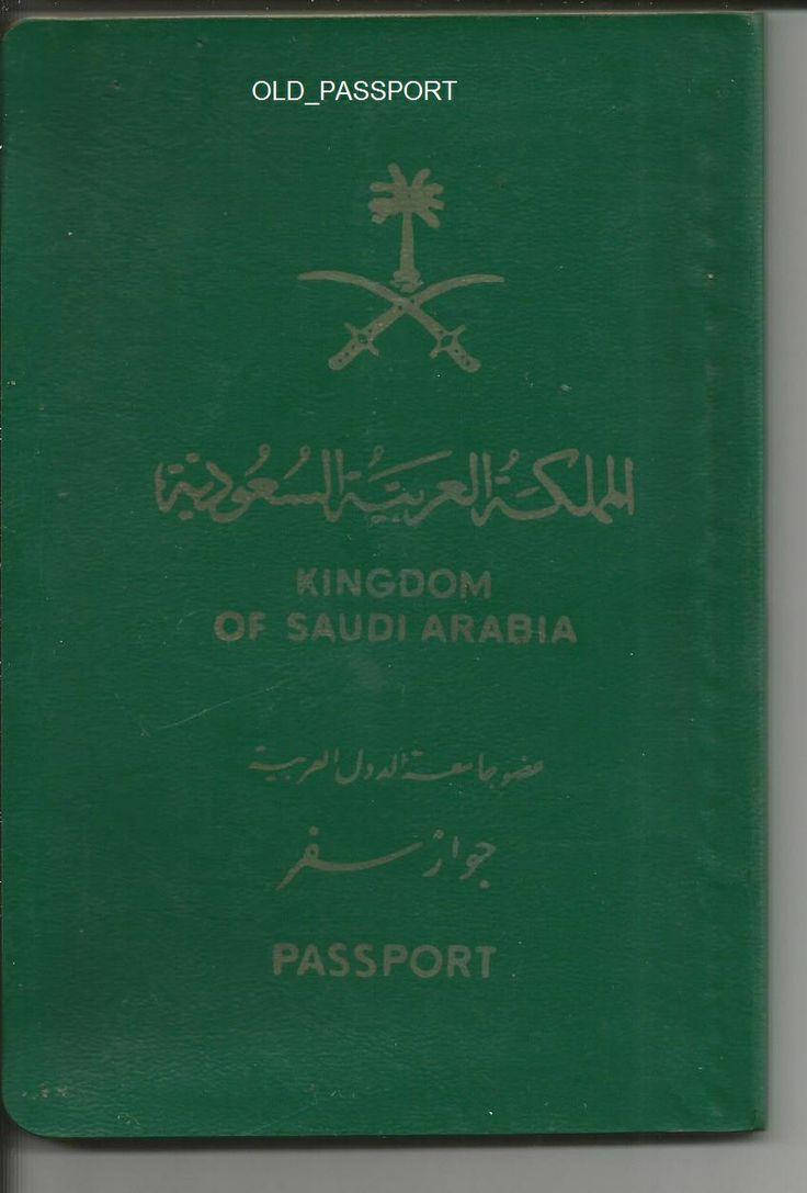 KINGDOM OF SAUDI ARABIA PASSPORT PASSPORT Pinterest
