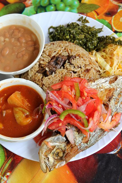 Home-Style Tanzanian Food – One of the Best Lunches You Can Eat in Dar Es Salaam - http://migrationology.com/2013/12/grace-home-style-tanzanian-food-one-of-the-best-lunches-you-can-eat-in-dar-es-salaam/