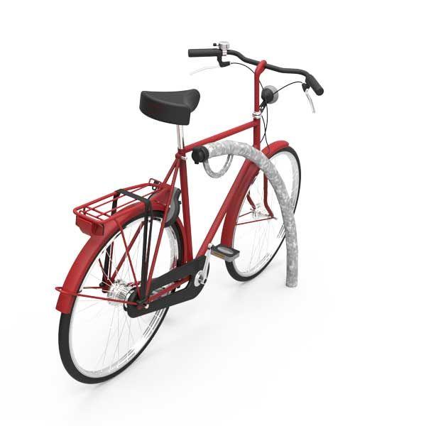 FalcoIon aanleunbeugel met oplaadpunt voor e-bikes.