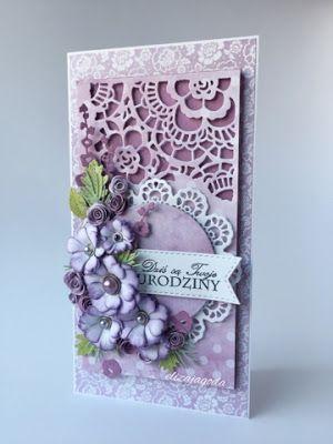 CraftsArt: Urodzinowe fiolety