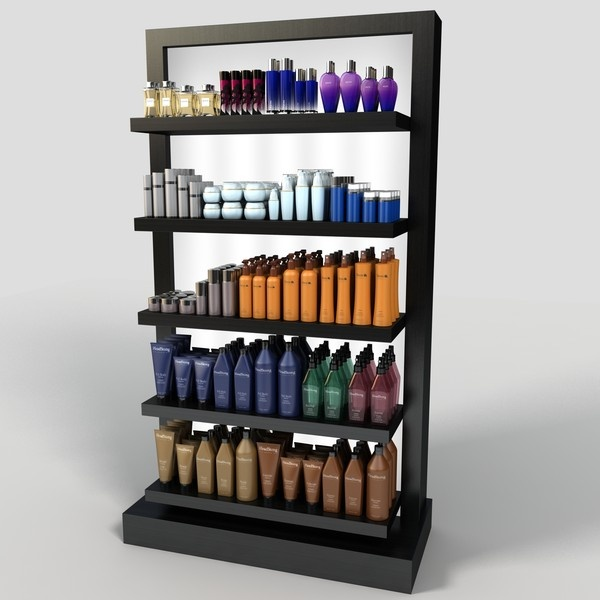3ds cosmetic display rack - Cosmetic Display Rack... by monkeyodoom