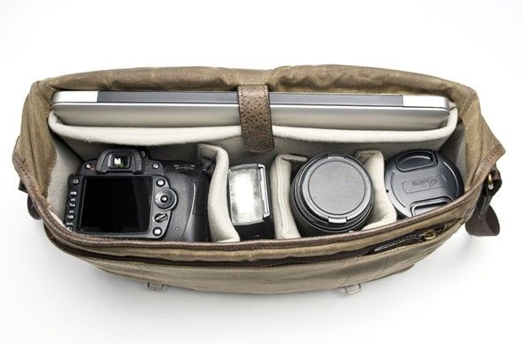 The Union Street Camera and laptop bag