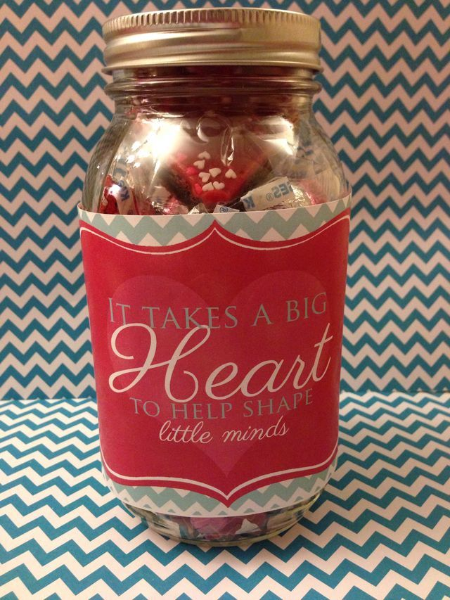 Valentines day gift for our daycare provider. Isabella just loves her and  so do we! - 9 Best Gifts Images On Pinterest Teacher Appreciation, Daycare