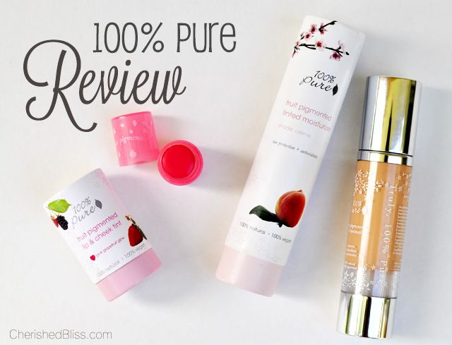100 Percent Pure Makeup Review, a non toxic and all natural makeup line!