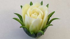Zucchini Cactus Rose Flower - Advanced Lesson 16 - Mutita Thai Art of Fruit Vegetable Carving