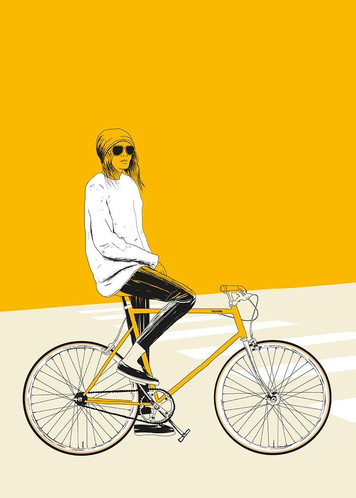 Image of Yellow Bike