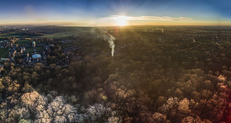 Frosty Haileybury Sunset - Haileybury College Hertford Heath
