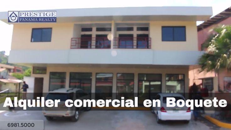 Alquiler de local comercial en Boquete centro. Prestige Panama Realty. 6...
