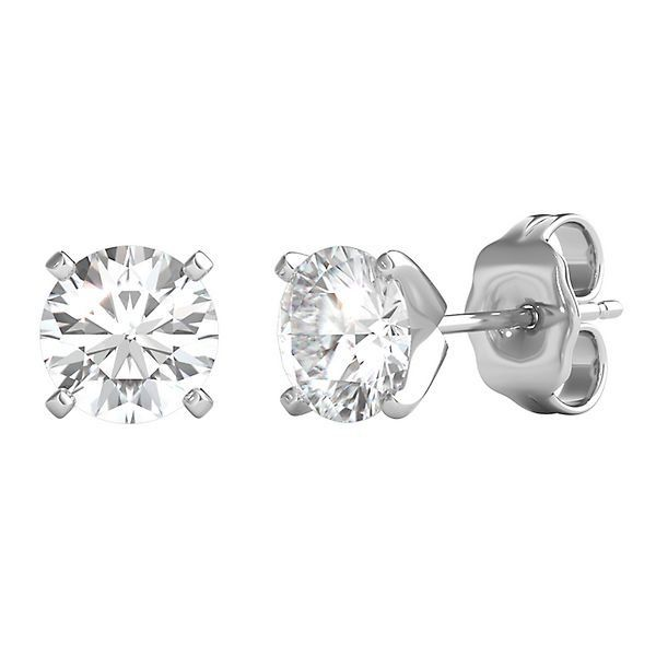 Altr Created Diamond Stud Earrings In 14k